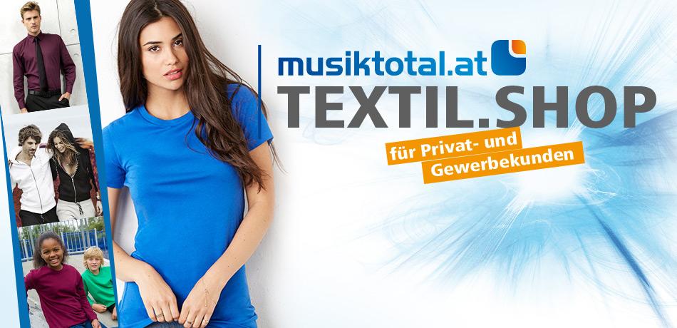 musiktotal-at Textilshop - über 4300 Artikel